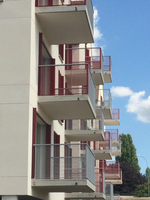 ARVAL architecture - Résidence des archers – Crépy-en-Valois - 4 ARVAL logements Victor Hugo