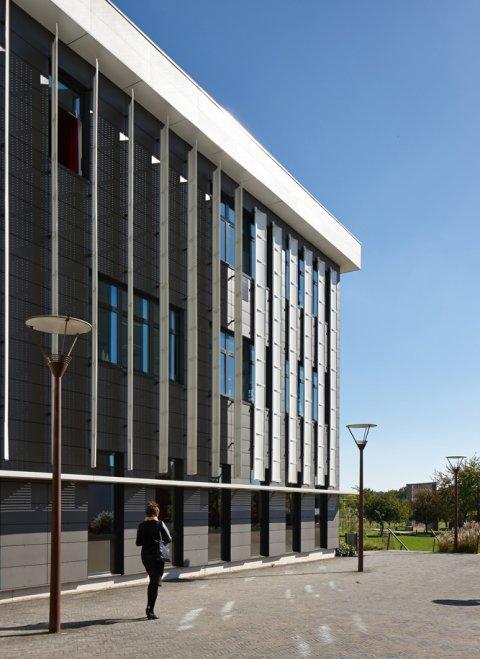 ARVAL architecture - Cité scolaire-Réhabilitation – Amiens - 17 Arval Cité scolaire Réhabilitation