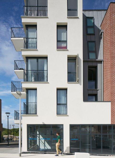 ARVAL architecture - ZAC des 2 Rives-Ilôt C – Compiègne - 7 ZAC des 2 Rives - Ilot C