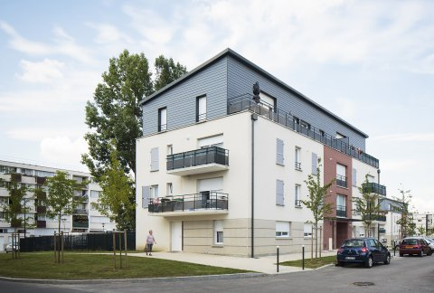 ARVAL architecture - PRUS-Quartier Le Clos des Roses – Compiègne - 7 Arval Clos des Roses Compiègne