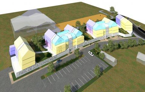 ARVAL architecture - 40 Logements – Verneuil-en-Halatte - 5 ARVAL Logements Verneuil-en-Halatte