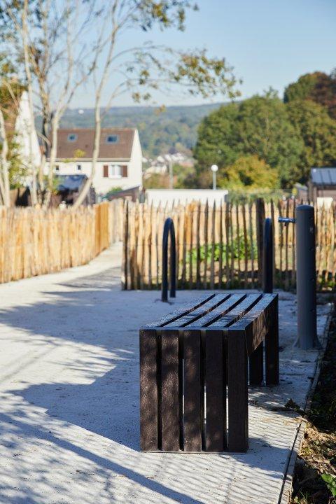 ARVAL architecture - Jardins familiaux – Lagny-Sur-Marne - 3 ARVAL Jardins familiaux Lagny Sur Marne