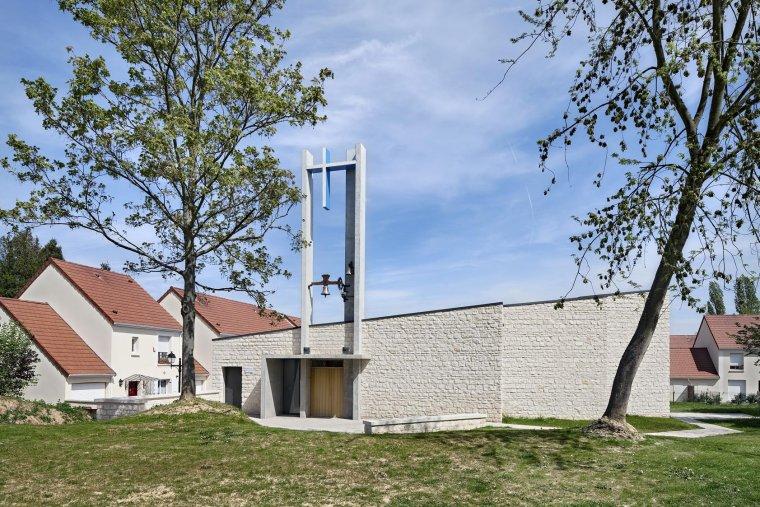 ARVAL architecture - Chapelle Mère Térésa – Crépy-en-Valois - 4 Arval Chapelle Mère Térésa