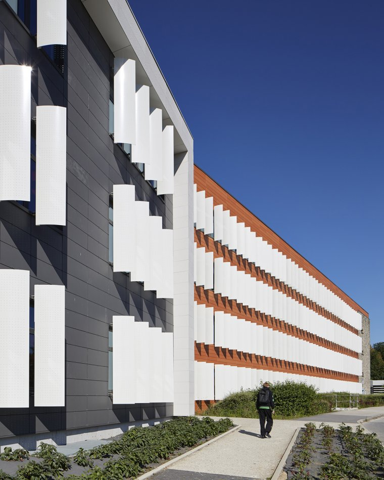 ARVAL architecture - Cité scolaire-Réhabilitation – Amiens - 6 Arval Cité scolaire Réhabilitation 11