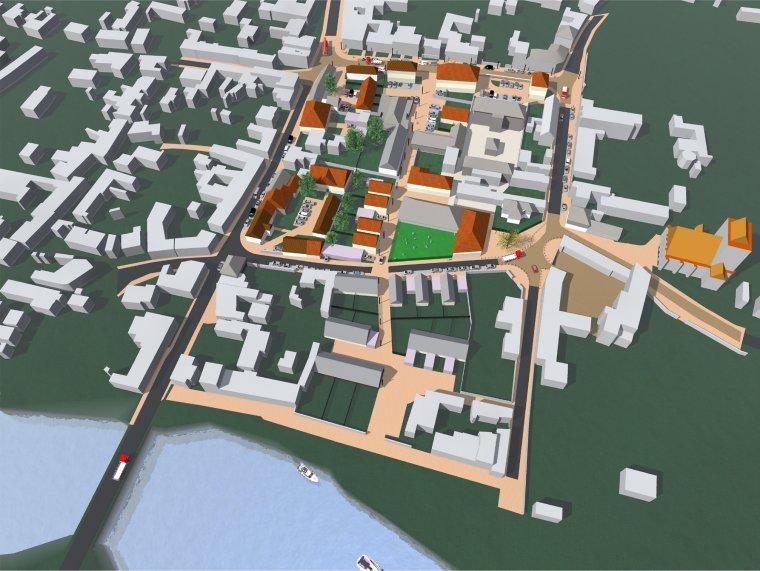 ARVAL architecture - Requalification du Centre Bourg – Choisy-au-bac - 2 Arval centre bourg Choisy au bac