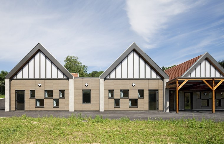 ARVAL architecture - Ecole primaire – Morienval - 2 Arval Ecole primaire Morienval