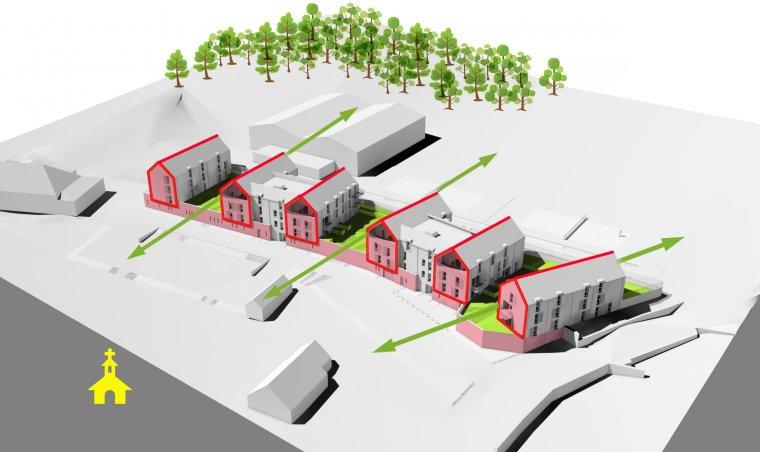 ARVAL architecture - 40 Logements – Verneuil-en-Halatte - 4 ARVAL Logements Verneuil-en-Halatte