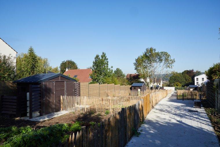 ARVAL architecture - Jardins familiaux – Lagny-Sur-Marne - 2 ARVAL Jardins familiaux Lagny Sur Marne