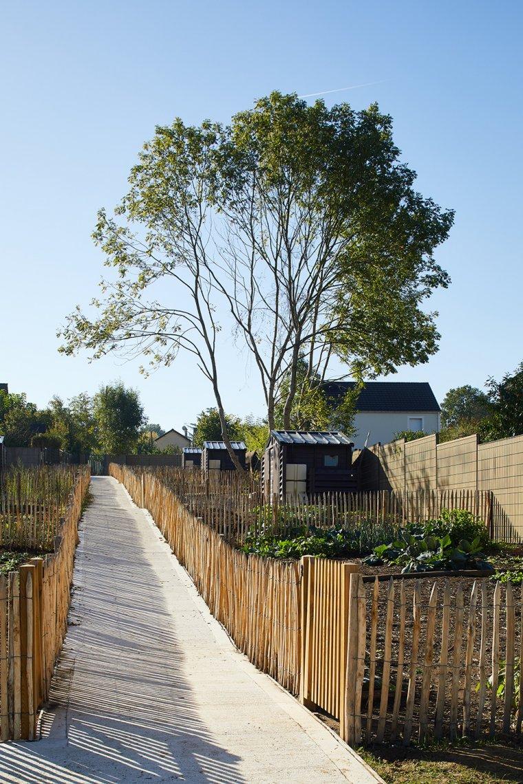 ARVAL architecture - Jardins familiaux – Lagny-Sur-Marne - 4 ARVAL Jardins familiaux Lagny Sur Marne