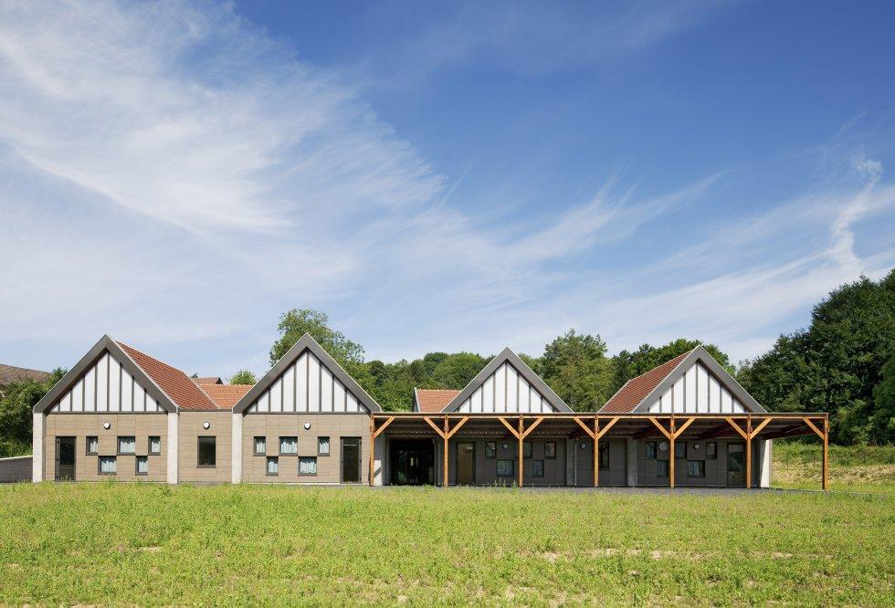 ARVAL architecture - Ecole primaire – Morienval - 1 Arval Ecole primaire Morienval