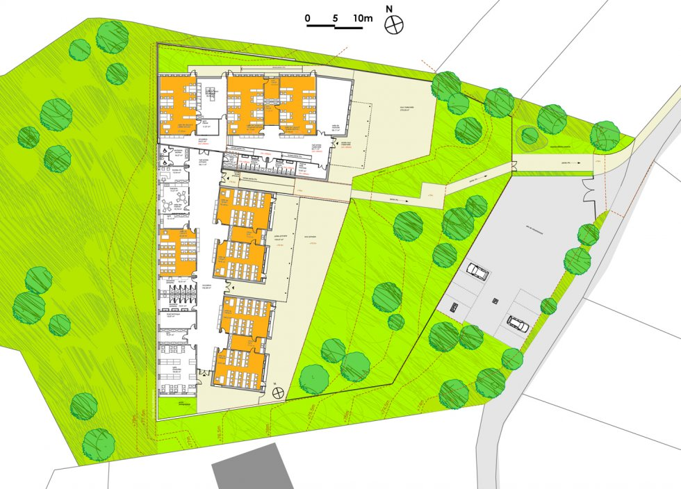 ARVAL architecture - Ecole primaire – Morienval - 5 Arval Ecole primaire Morienval