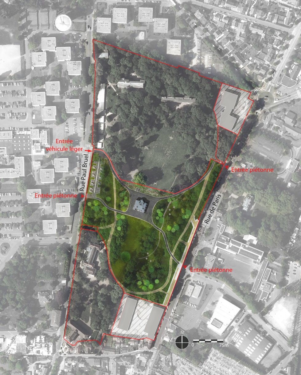 ARVAL architecture - Parc du château – ZAC de Louvres - 10