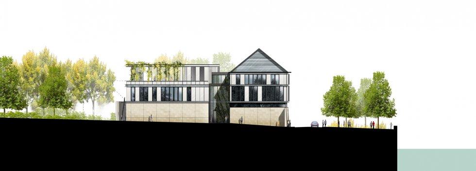 ARVAL architecture - Maison de l'archéologie – Compiègne - 4 arval maison de l'archeologie compiegne 4