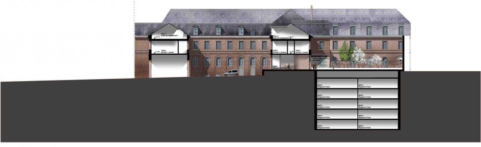 ARVAL architecture - Archives départementales de la Somme – Amiens - 9 Arval archives départementales somme 11