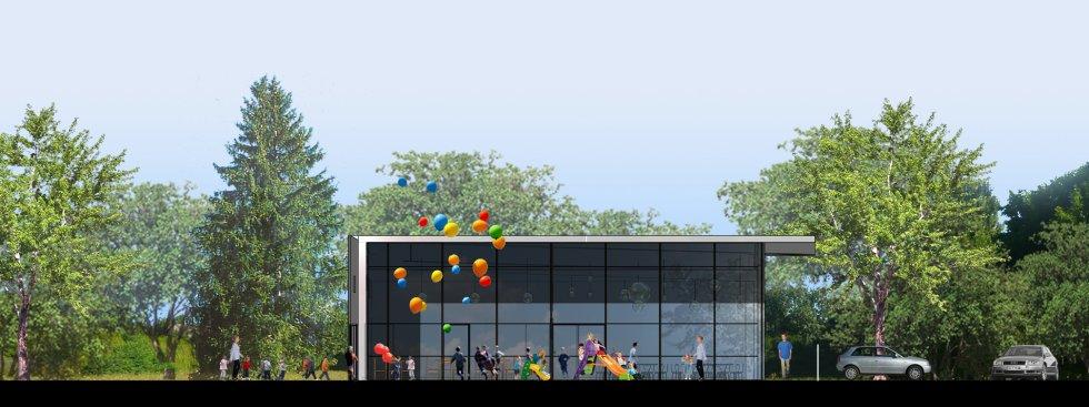 ARVAL architecture - Cantine scolaire – Villers Cotterêts - 5