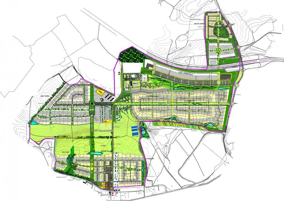 ARVAL architecture - Schéma directeur – Ilinskoyé (Russie) - 1 Arval Ilinscoye 1
