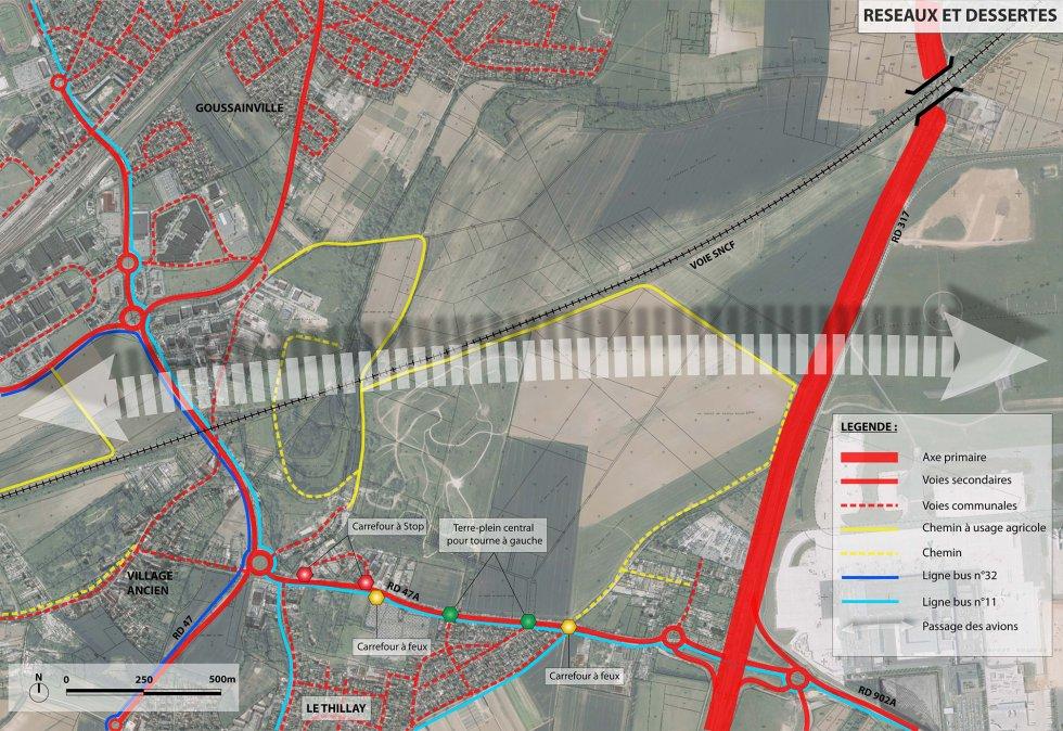 ARVAL architecture - Roissy-CAREX – Goussainville - 2 arval carex 2