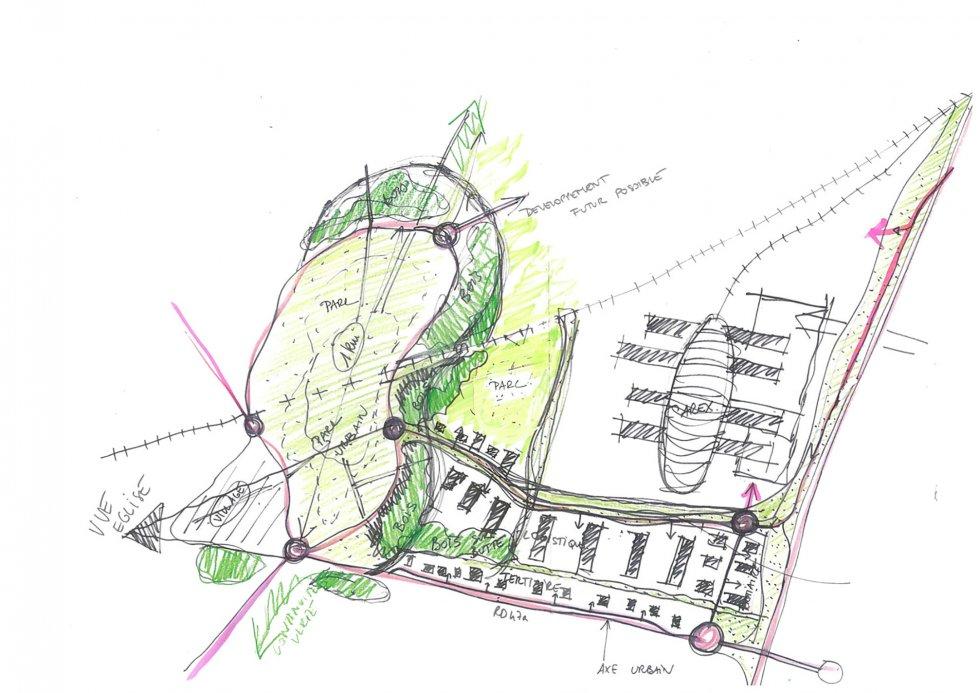 ARVAL architecture - Roissy-CAREX – Goussainville - 1 arval carex 4