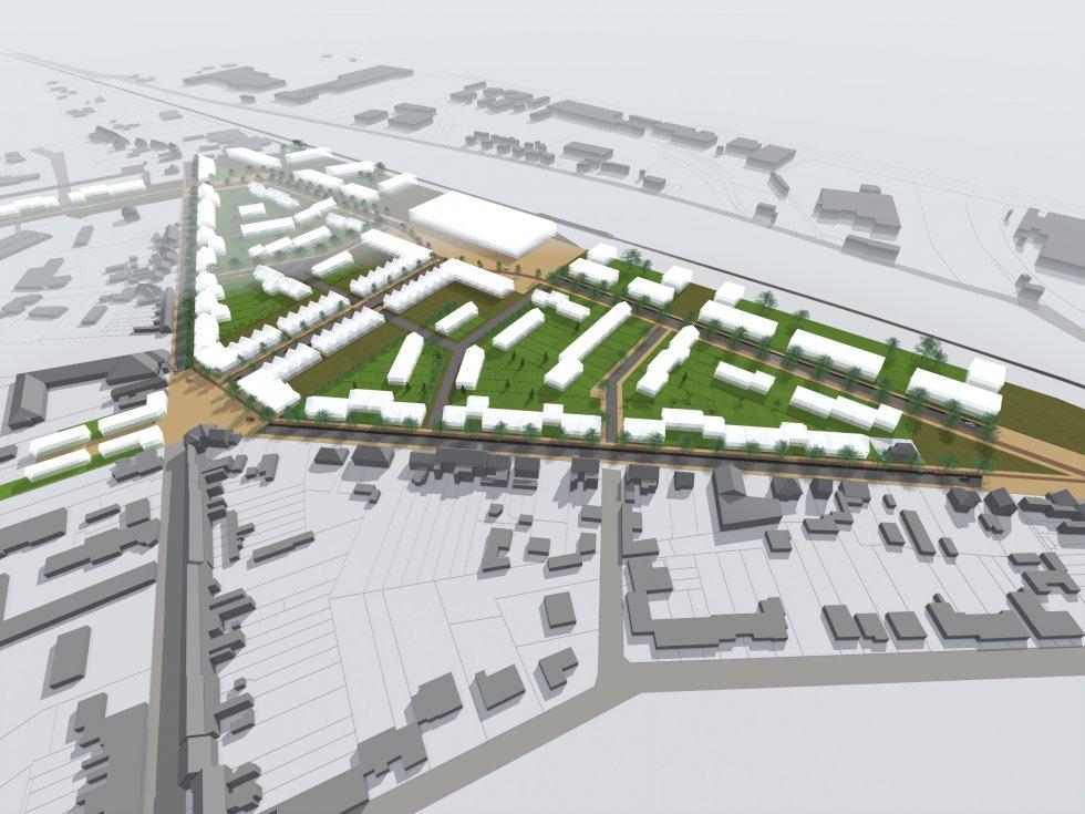 ARVAL architecture - Aménagement quartier de la gare – Chauny - 2 arval quartier gare chauny 2
