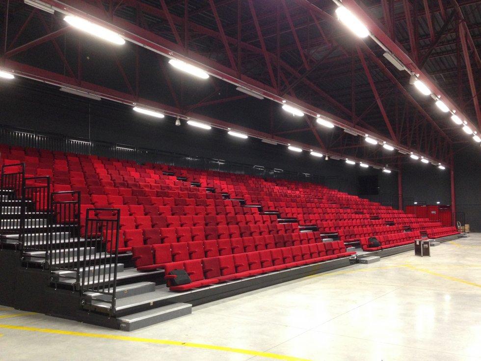 ARVAL architecture - Pôle évènementiel – Compiègne - 3 Arval pôle évènementiel le Tigre Compiègne