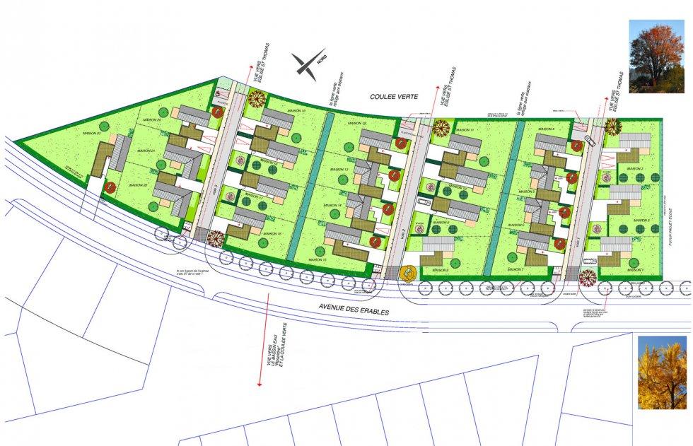 ARVAL architecture - Les Erables – Crépy-en-Valois - 1 Arval Les Erables Crépy en Valois 1