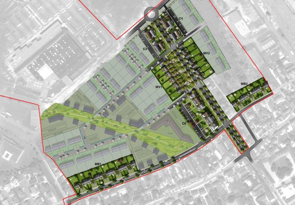 ARVAL architecture - ZAC des Jardins – La Croix Saint Ouen - 1 Arval zac des Jardins la Croix Saint Ouen 1