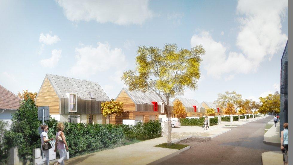 ARVAL architecture - ZAC des Jardins – La Croix Saint Ouen - 5 Arval zac des Jardins la Croix Saint Ouen 5