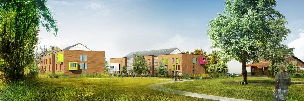 ARVAL architecture - Résidence étudiants Lassalle – Beauvais - 2 Arval Résidence étudiante Lassalle2