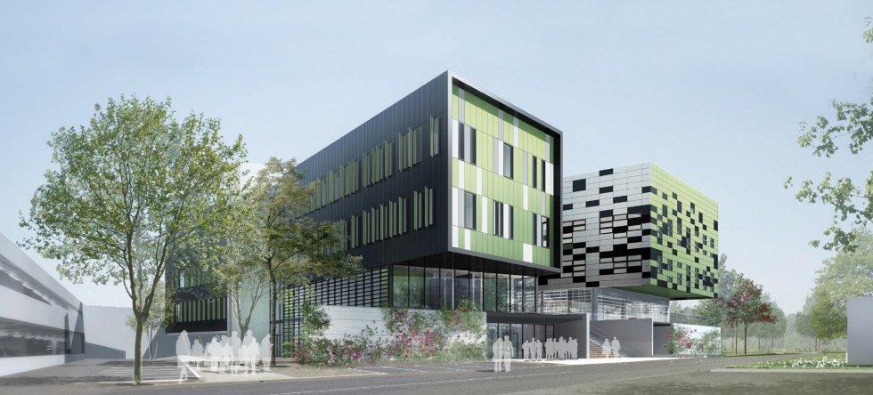 ARVAL architecture - Laboratoires, Université de Picardie – Amiens - 2 Arval Labo Jules Vernes Amiens 1