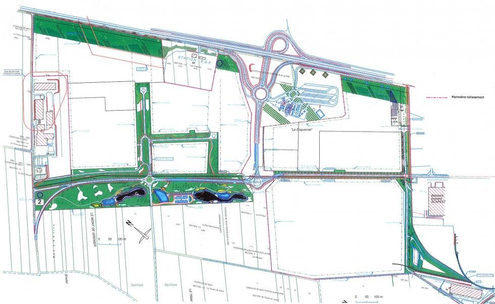 ARVAL architecture - Parc industriel – Récy et Saint Martin sur le Pré - 1 Arval récy