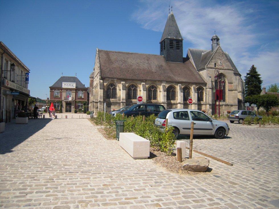 ARVAL architecture - Aménagement de la place Saint Georges – Chevrière - 1 arval place chevrière