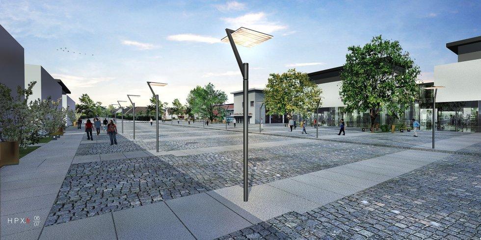 ARVAL architecture - Restructuration du centre-ville – Lamorlaye - 2 arval lamorlaye