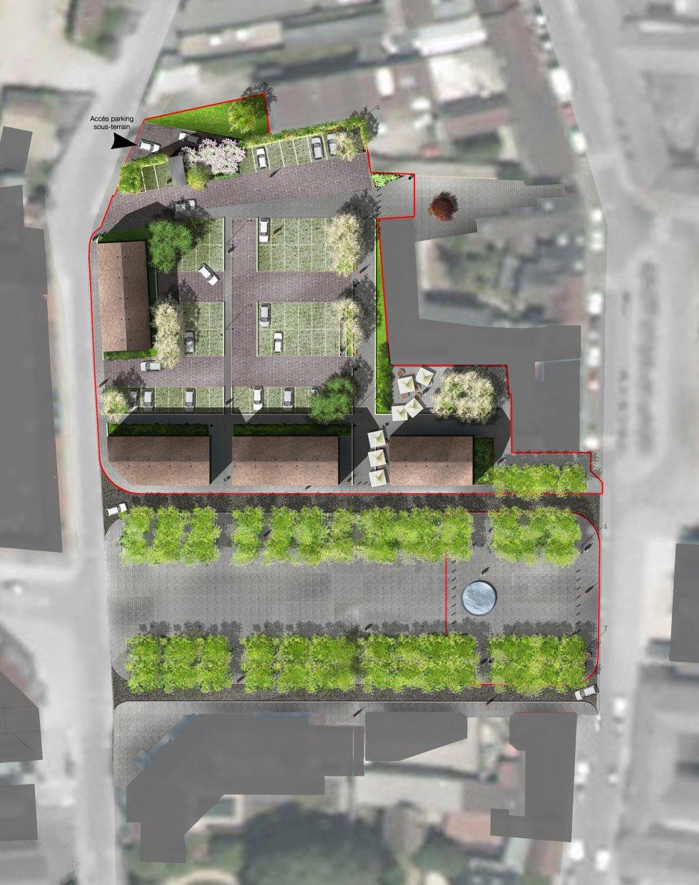 ARVAL architecture - Requalification du centre-ville – Gouvieux - 5 arval centre ville gouvieux