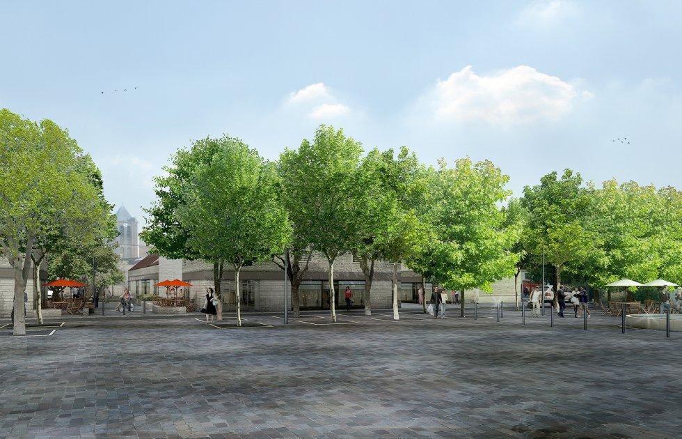 ARVAL architecture - Requalification du centre-ville – Gouvieux - 4 arval centre ville gouvieux