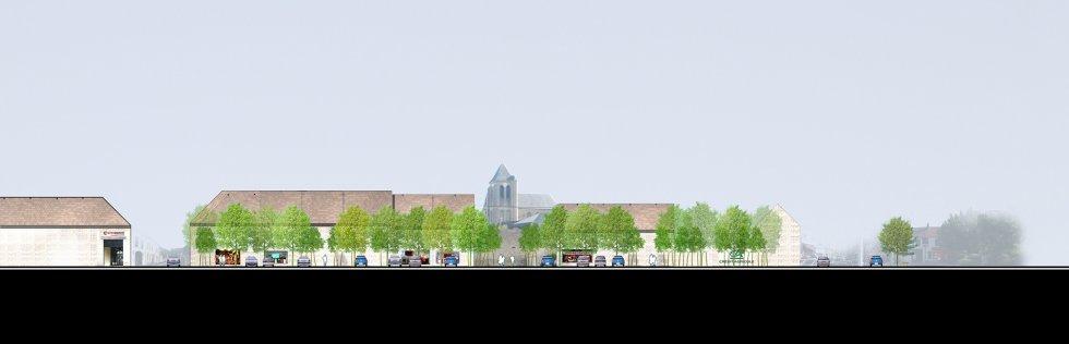 ARVAL architecture - Requalification du centre-ville – Gouvieux - 7 arval centre ville gouvieux