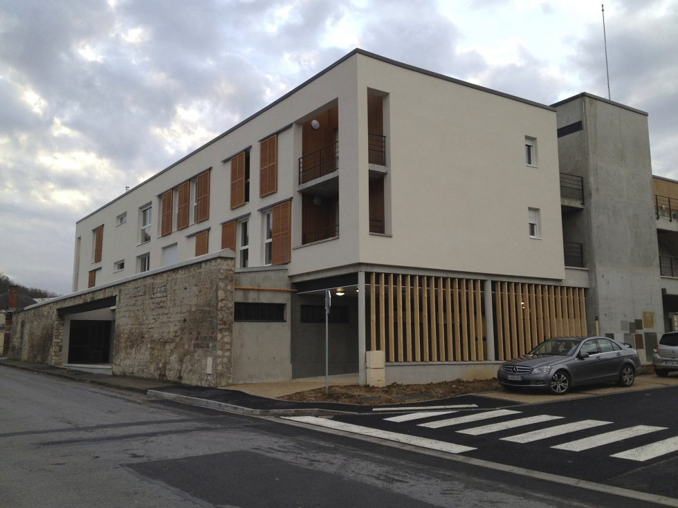 ARVAL architecture - Bâtiment collectif site Fernand Christ – Laon - 3 arval IRFF Laon