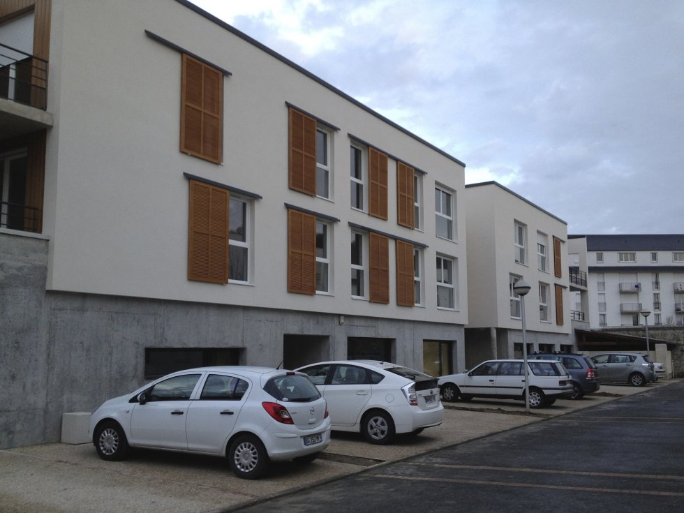 ARVAL architecture - Bâtiment collectif site Fernand Christ – Laon - 4 arval IRFF Laon