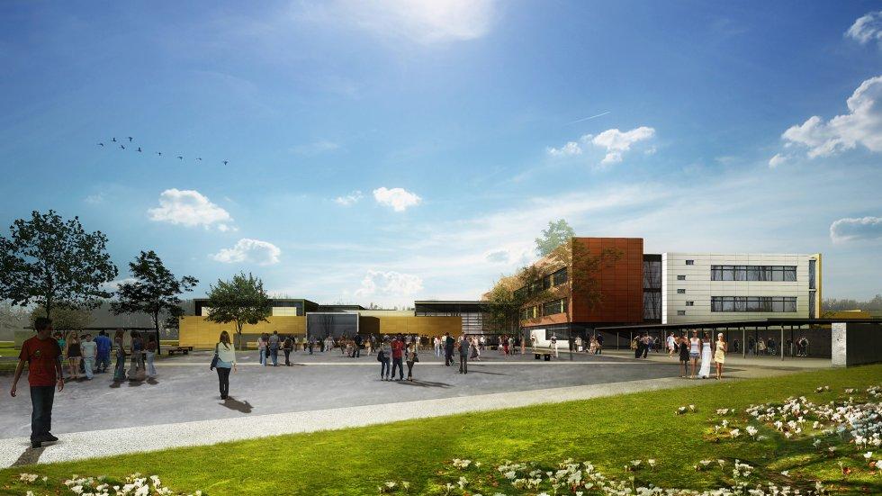 ARVAL architecture - Collège Jean Mermoz – Laon - 3 arval collège jean mermoz laon
