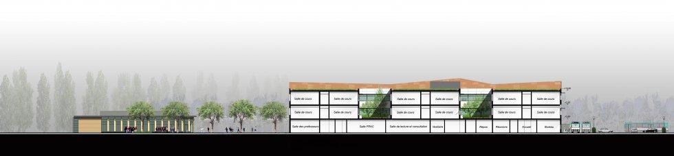 ARVAL architecture - Collège Jean Mermoz – Laon - 5 arval collège jean mermoz laon