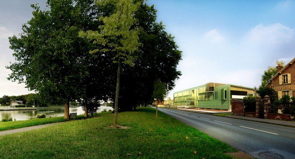 ARVAL architecture - CETMEF – Compiègne - 2 arval CETMEF Compiègne