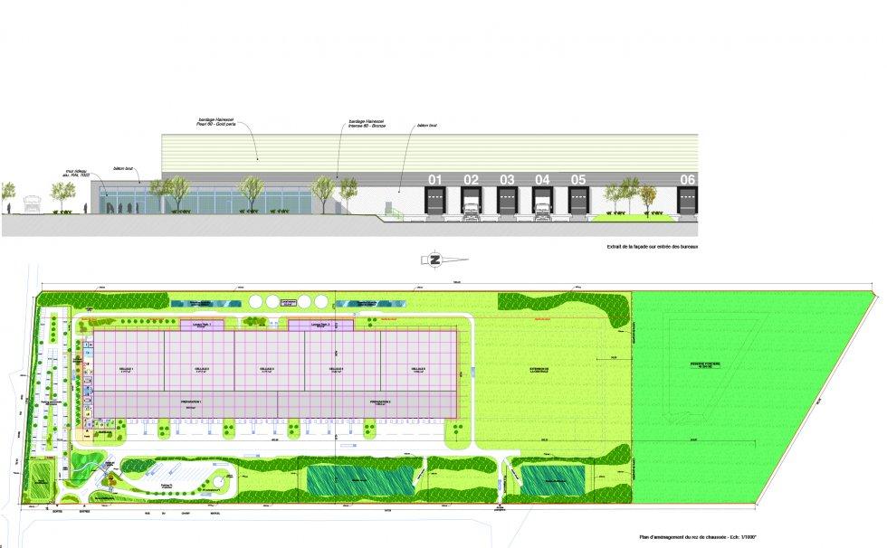 ARVAL architecture - Centrale de distribution L'Oréal – Roye - 5 arval saleine roye