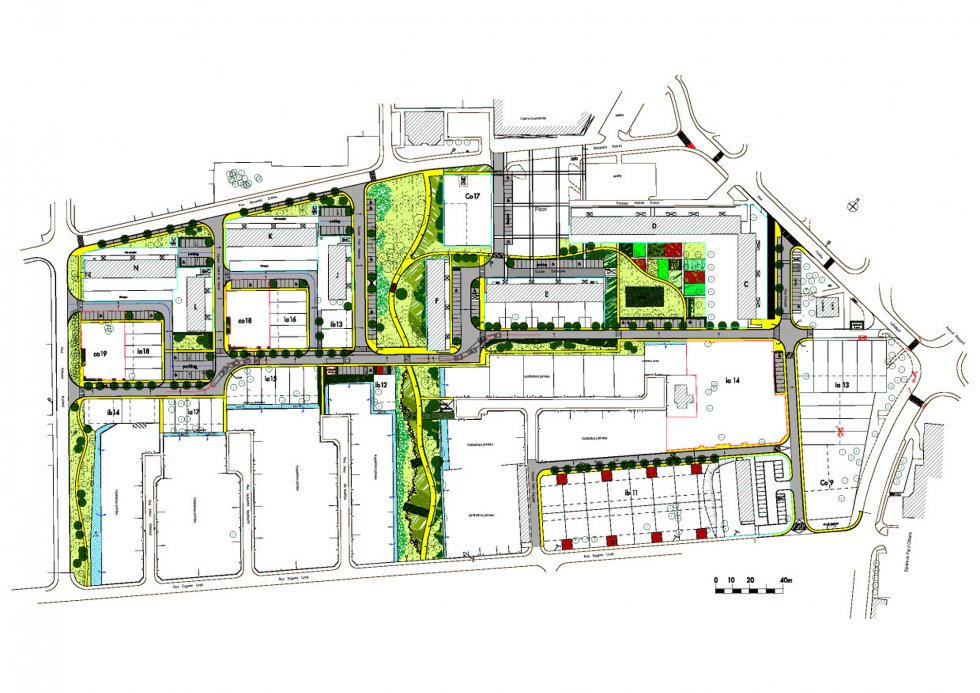 ARVAL architecture - PRUS-Quartier Le Clos des Roses – Compiègne - 2 Arval Clos des Roses Compiègne