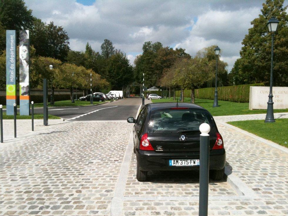 ARVAL architecture - Parking Hôtel du Département – Beauvais - 3 Arval parking Hotel du département Beauvais