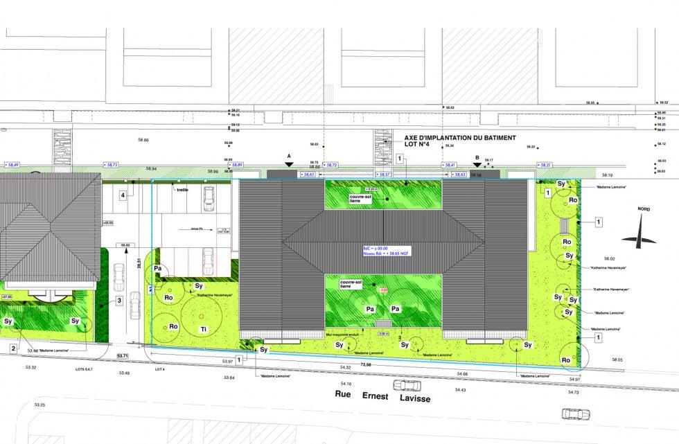 """ARVAL architecture - Résidence """"Les Vignes"""" – Soissons - 4 Arval Résidence des Vignes Soissons"""