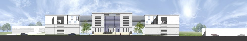 ARVAL architecture - Construction du nouvel hôpital – Péronne - 3