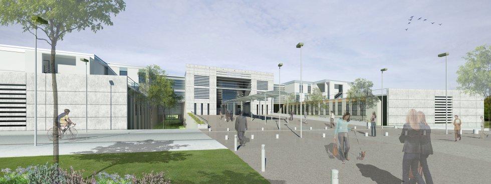 ARVAL architecture - Construction du nouvel hôpital – Péronne - 1 Arval Hopital Péronne
