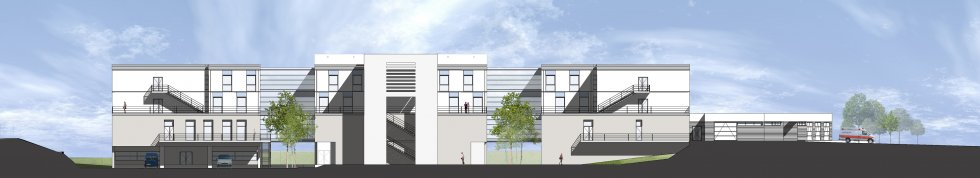 ARVAL architecture - Construction du nouvel hôpital – Péronne - 4 Arval Hopital Péronne