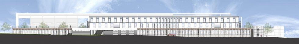 ARVAL architecture - Construction du nouvel hôpital – Péronne - 6 Arval Hopital Péronne