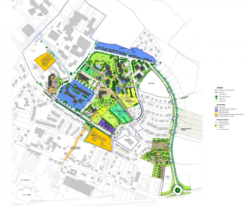 ARVAL architecture - PRUS – Quartier Saint Siméon – Noyon - 1 Arval PRUS Noyon