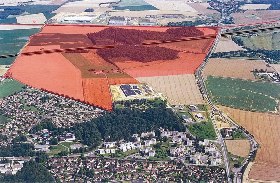 ARVAL architecture - Extension de la ZIR de la Moiserie – Château-Thierry - 1 Arval La Moiserie Château Thierry